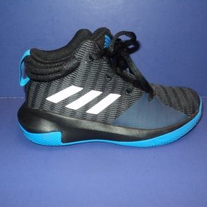 NEW Adidas Ortholite Sneakers Boy's 12 Black/Blue
